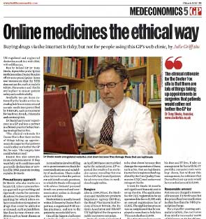 Online medicines the ethical way