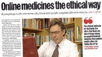 Online medicines the ethical way headline