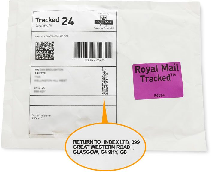 Discreet Delivery Packaging Details Dr Fox