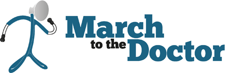 March to the Doctor logo