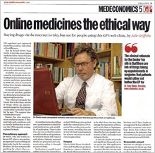 Online medicines ethical