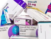 Boxes of brands of sildenafil
