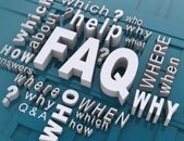 FAQs graphic image