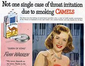 Cigarette advert example