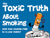 Toxic truth about smoking and devil cigarette