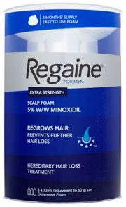 Regaine extra strength foam 73ml x 3