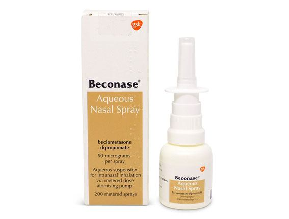 steroid nasal spray common cold