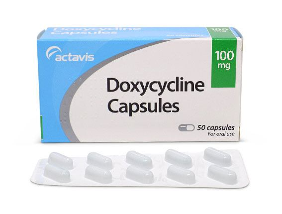 doxycycline hyclate 100mg acne