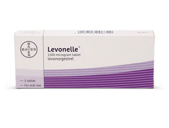 brown discharge after taking levonelle