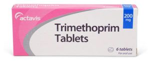 Trimethoprim antibiotic pack photo