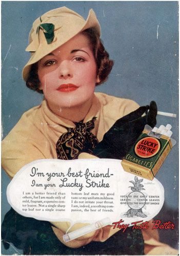 lucky strike ads women