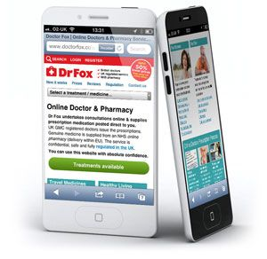 dr fox mobile website