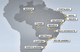 brazil world cup venues