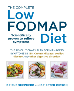 low fodmap diet book cover