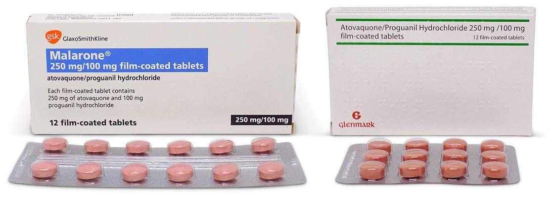 Buy Generic Malarone (Atovaquone/Proguanil) Tablets Online | Chemist Click