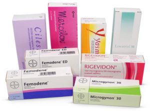 Combined contraceptive pill packs