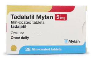 Once daily tadalafil 5mg