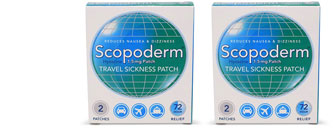 Scopoderm patches photo